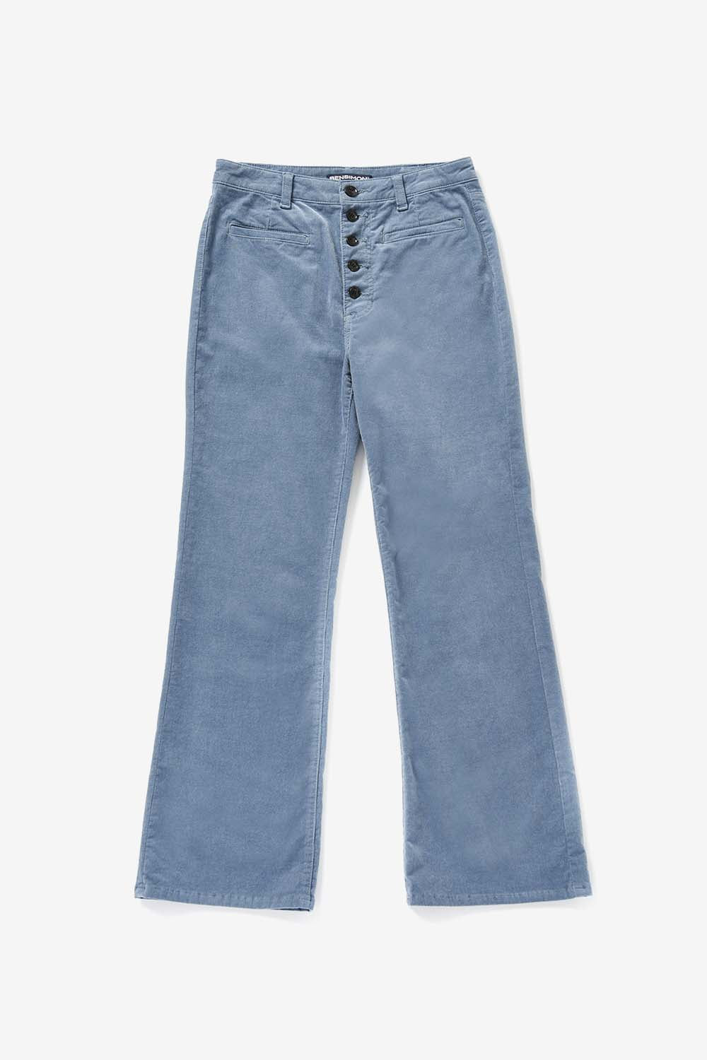 Button Point Corduroy Pants_Sky blue BS9FPT405SB