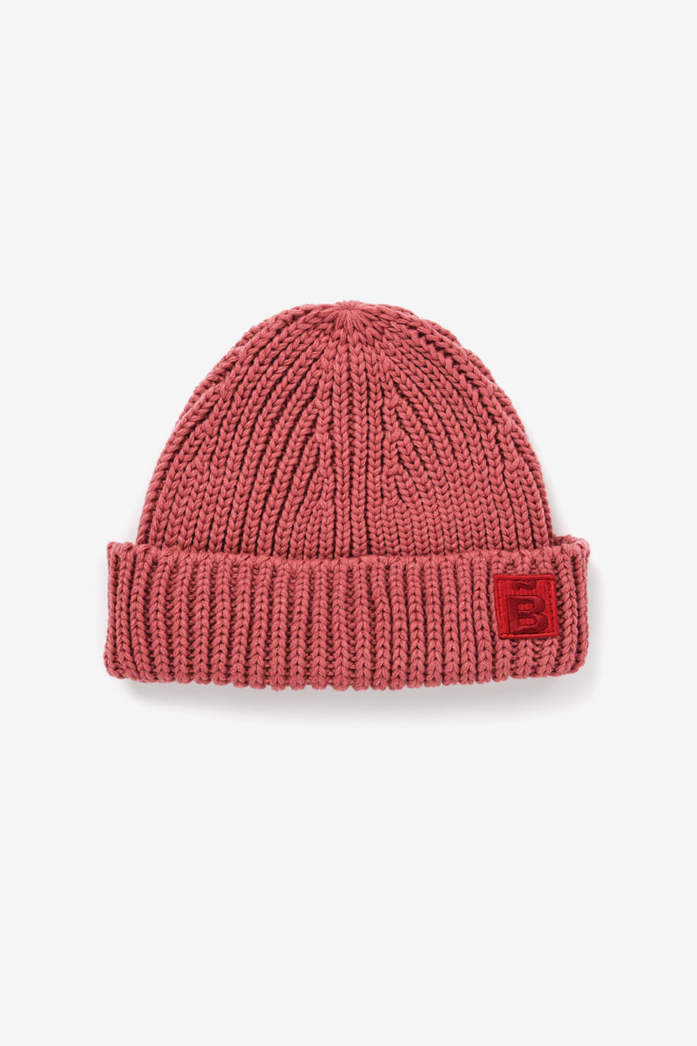 Slow B Short Beanie_Dark red BS9FAC502DR