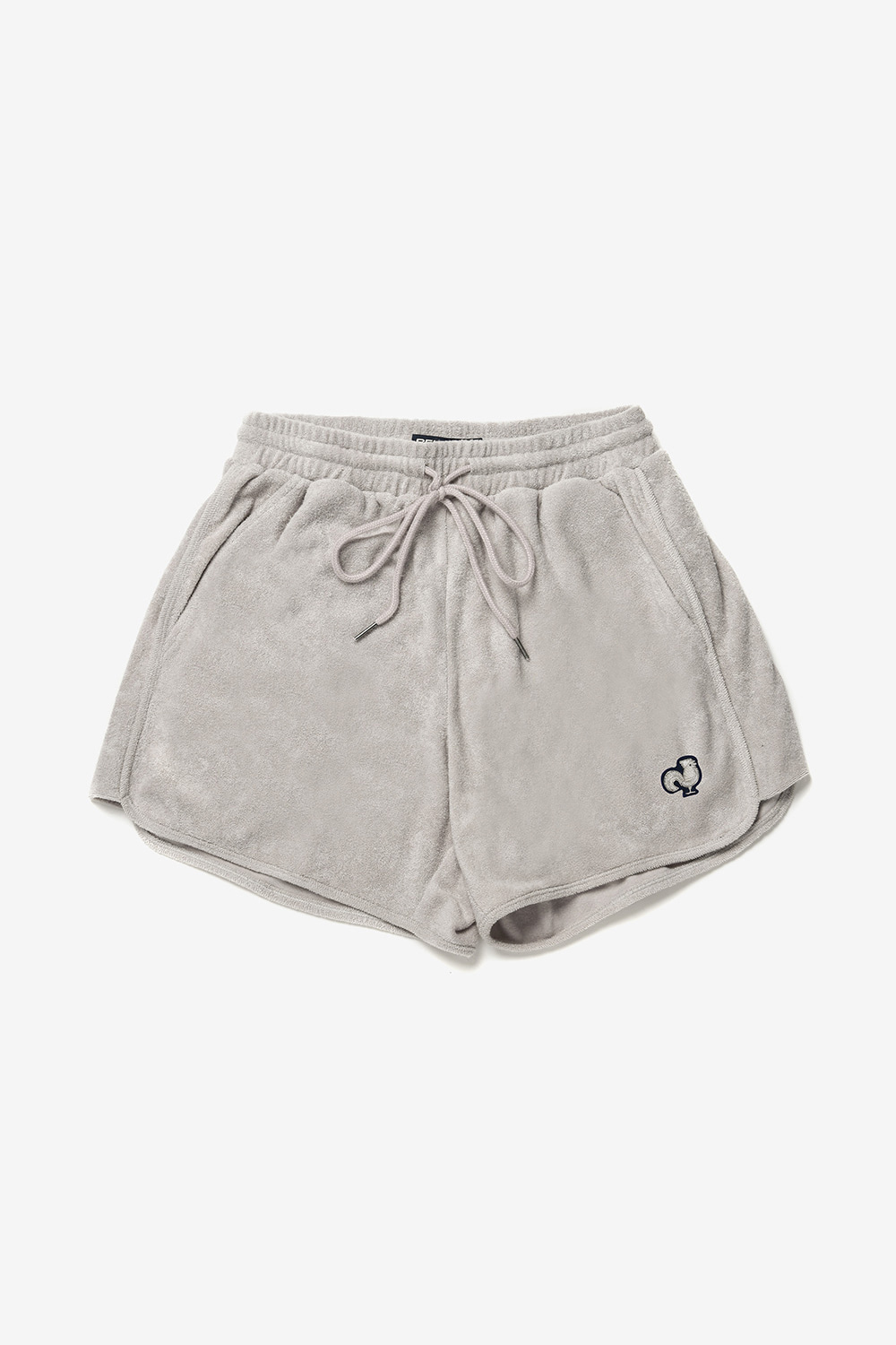 [벤시몽 X 비아플레인] Towel Sweat Shorts_Natural Grey BS0SPH404GR00F