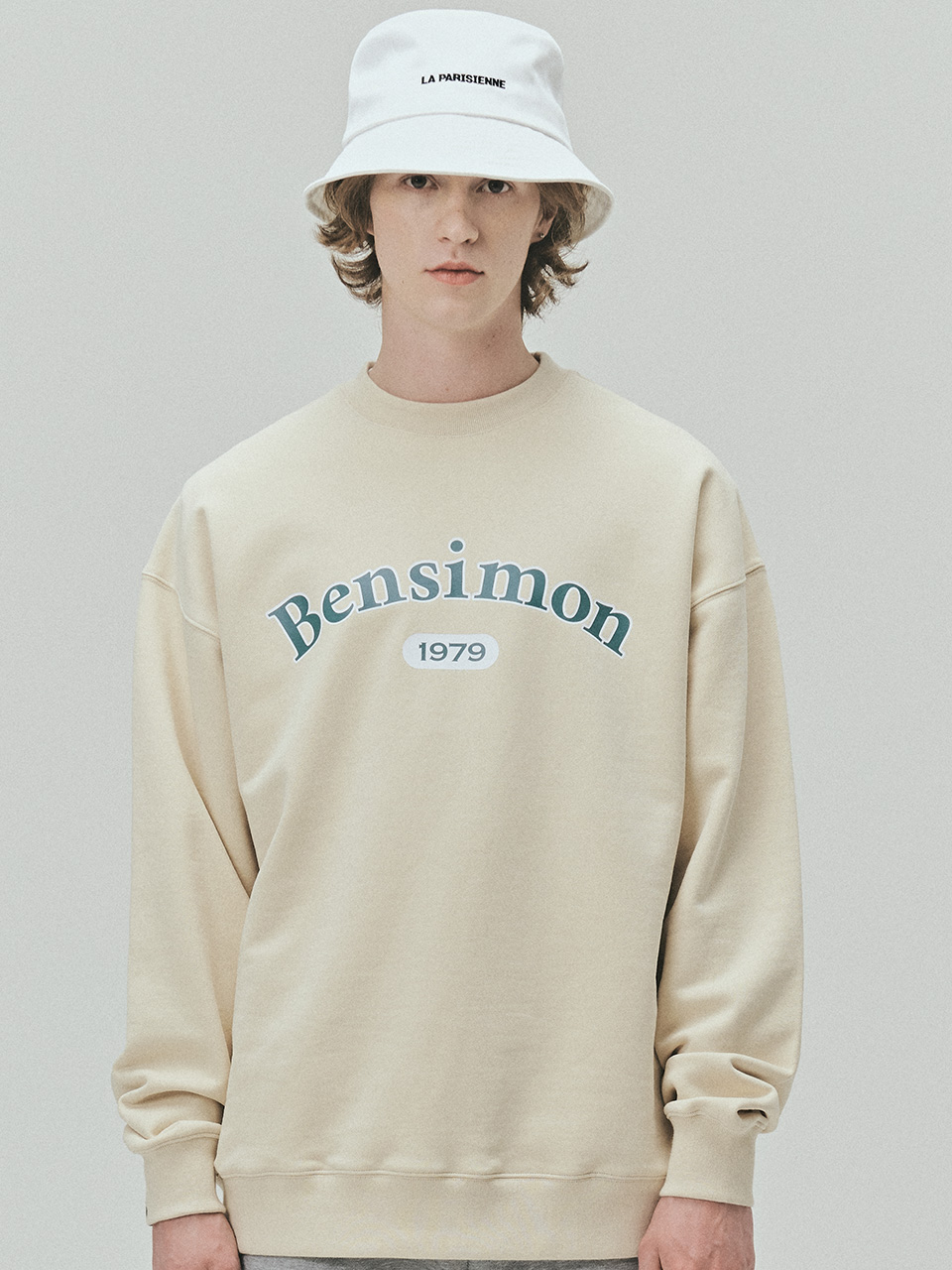 BENSIMON 1979 HERITAGE SWEAT SHIRT - CREAM
