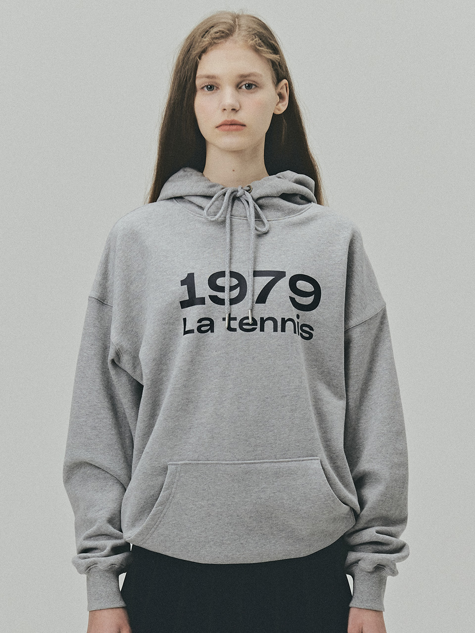 BENSIMON 1979 SWEAT HOOD - GREY