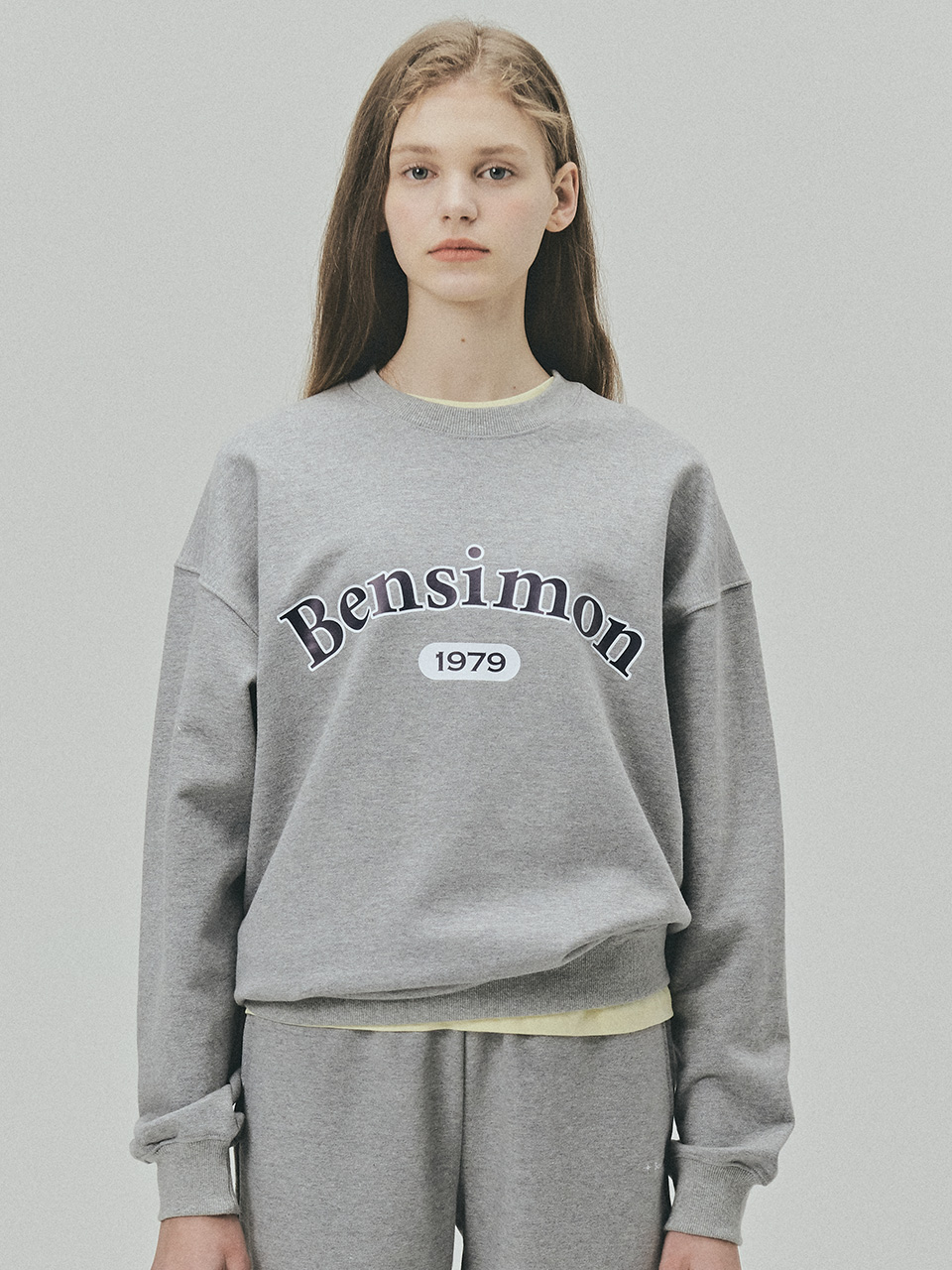 BENSIMON 1979 HERITAGE SWEAT SHIRT - GREY