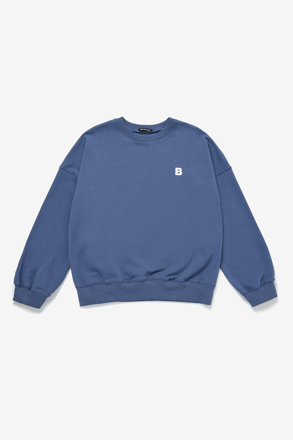B Logo Over MTM(unisex)_Blue Grey BS0SMT207BL00F