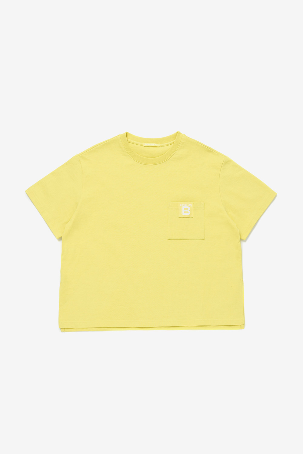 Original Label Half Sleeve_Yellow BS0STS204YL00F