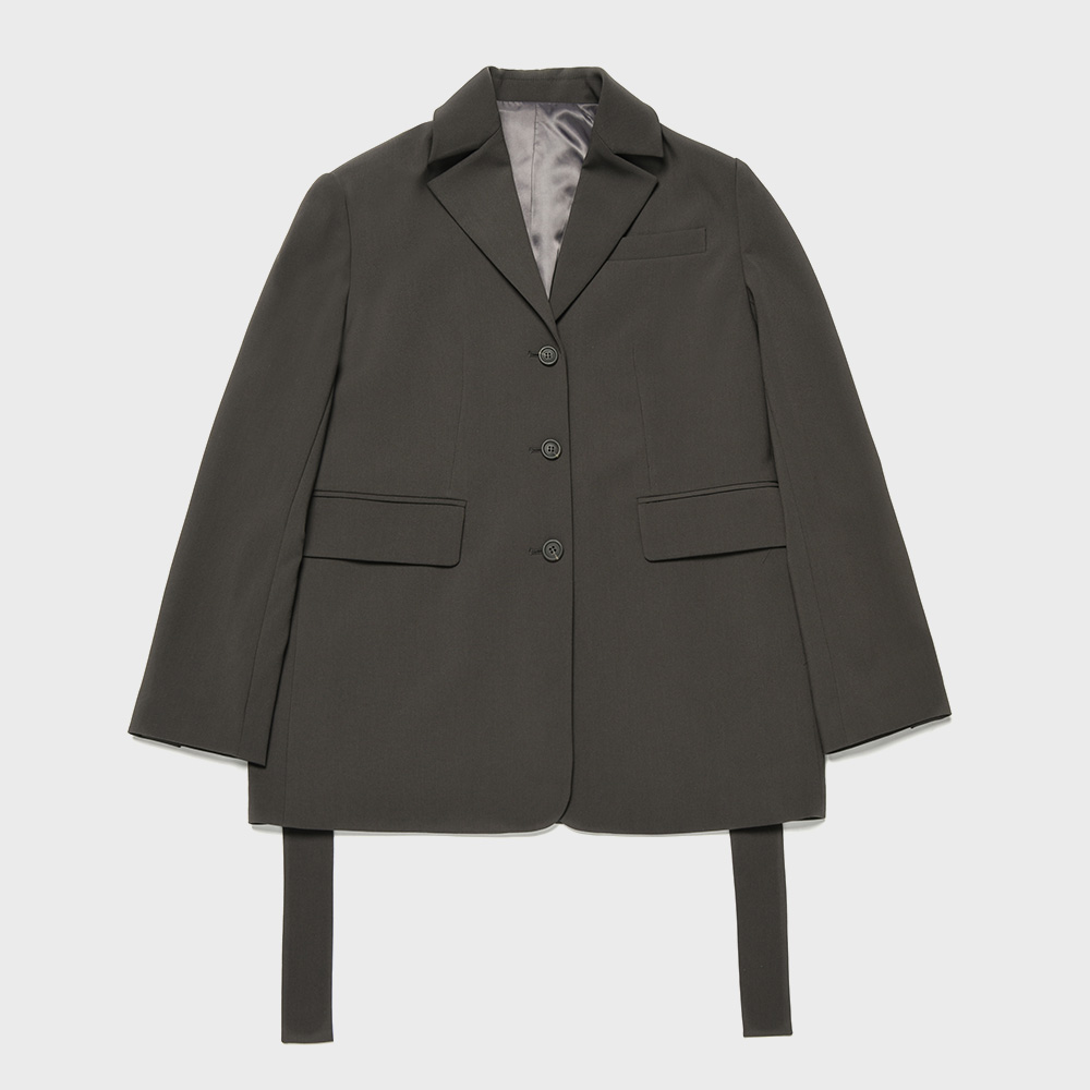 BENSIMON SET UP JACKET - DARK GREY