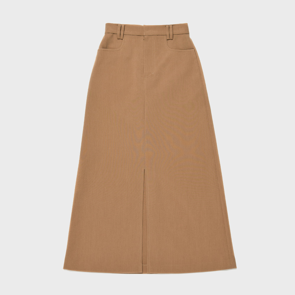 BENSIMON LONG SKIRT - BROWN