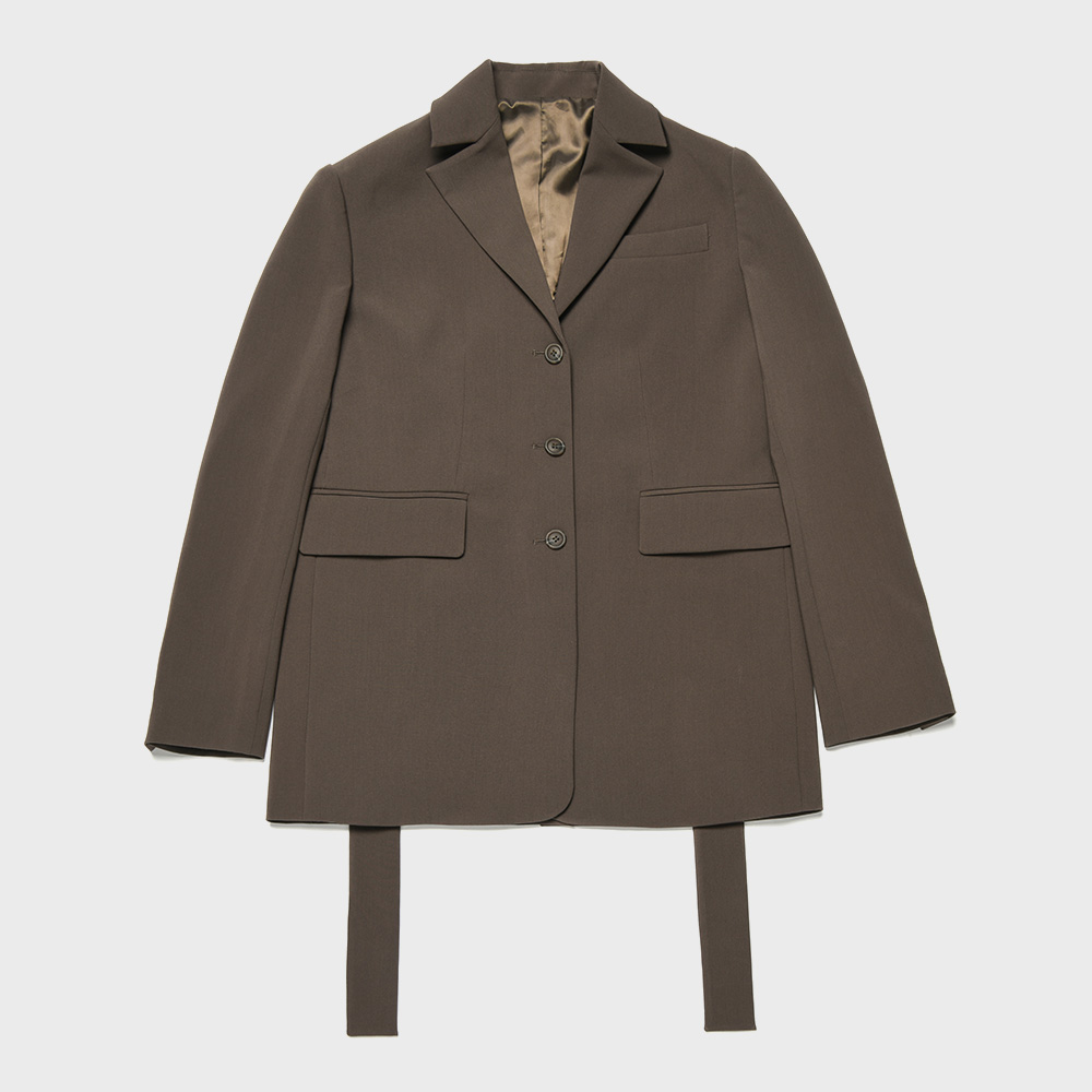 BENSIMON SET UP JACKET - BROWN