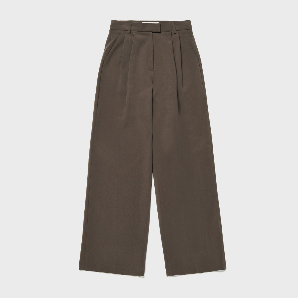 BENSIMON SET UP SLACKS - BROWN