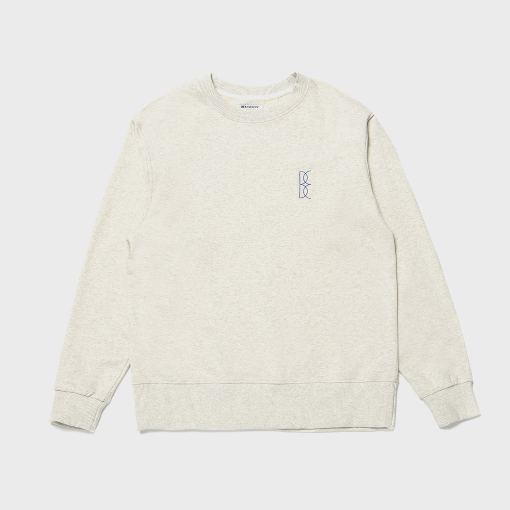BENSIMON OVER SWEAT SHIRT - GREY