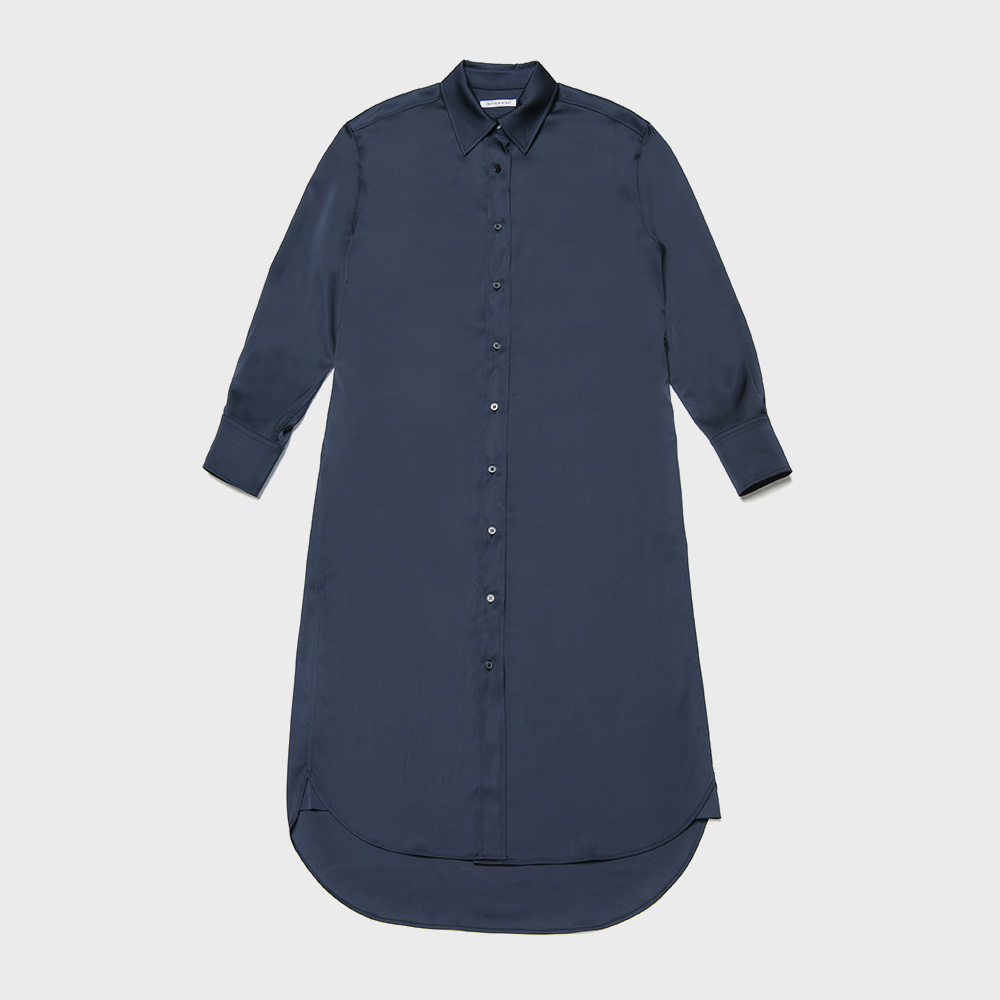 BENSIMON SHIRT DRESS - NAVY