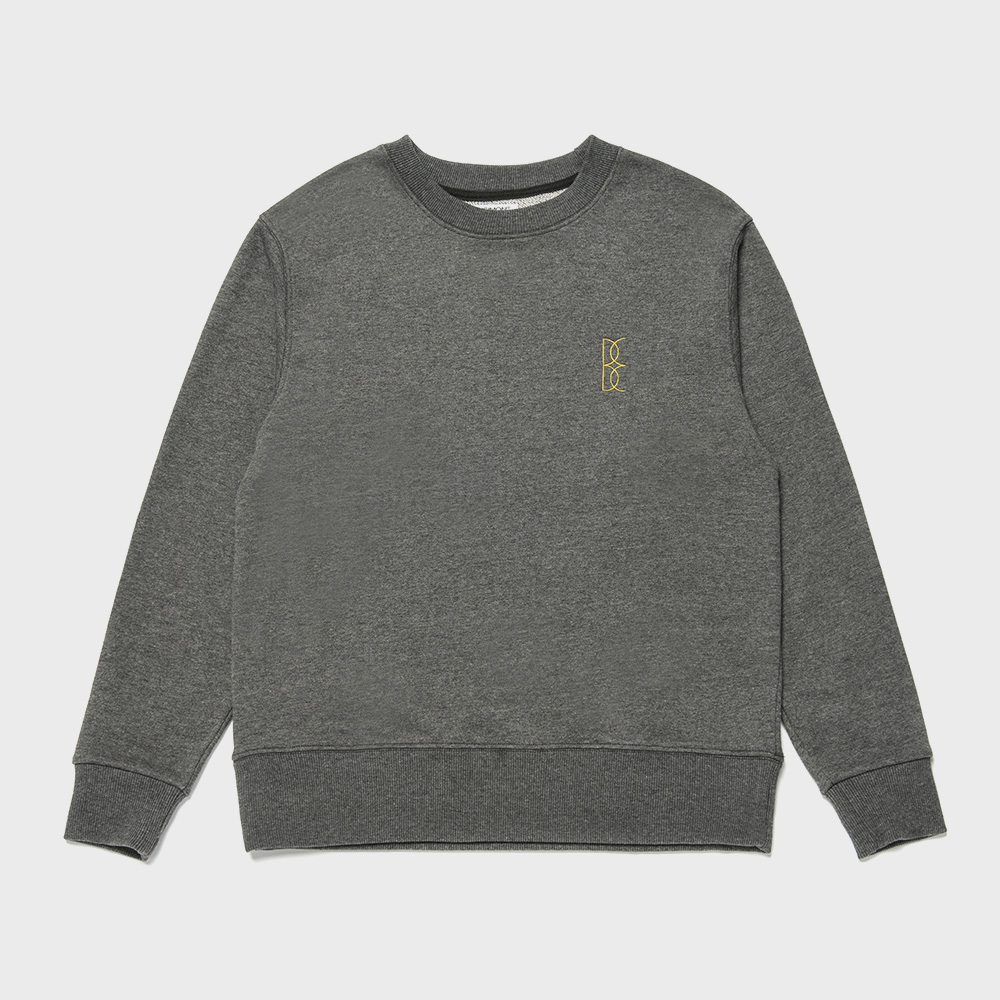BENSIMON OVER SWEAT SHIRT - DARK GREY