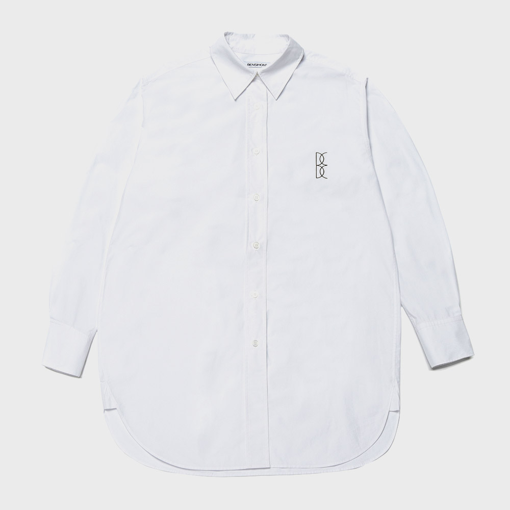 BENSIMON LOGO SHIRTS - WHITE
