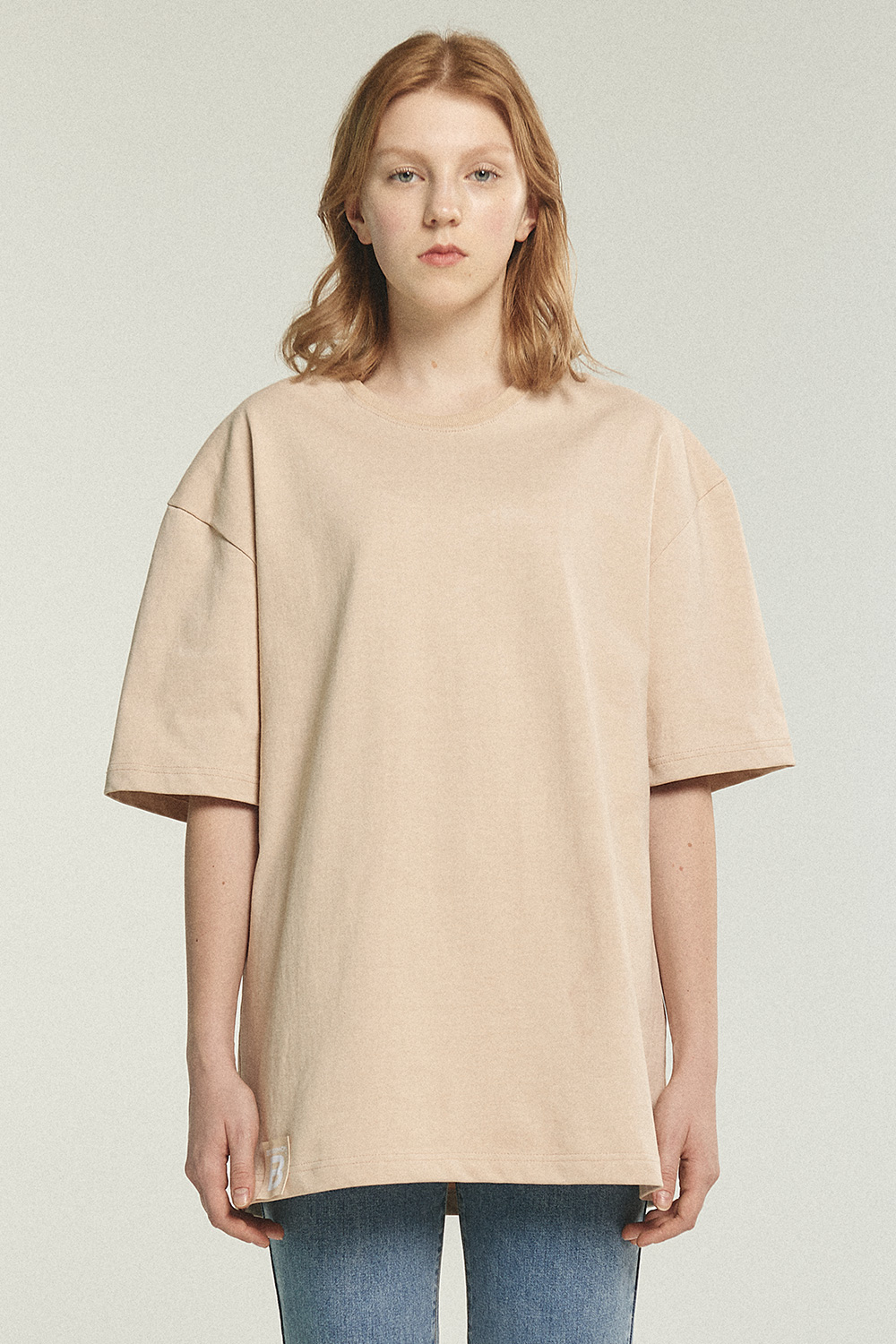 Original Label Over T(unisex)_Beige BS0STS205BE00F
