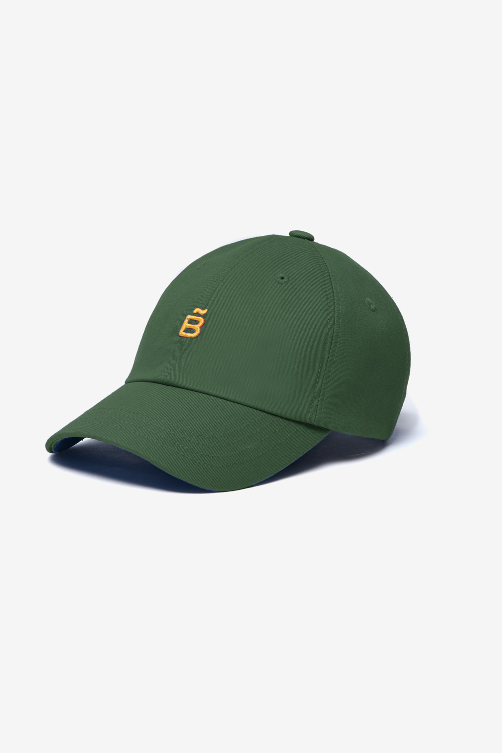 Slow B Basic Ball Cap_Khaki BS0SCP501KH00F