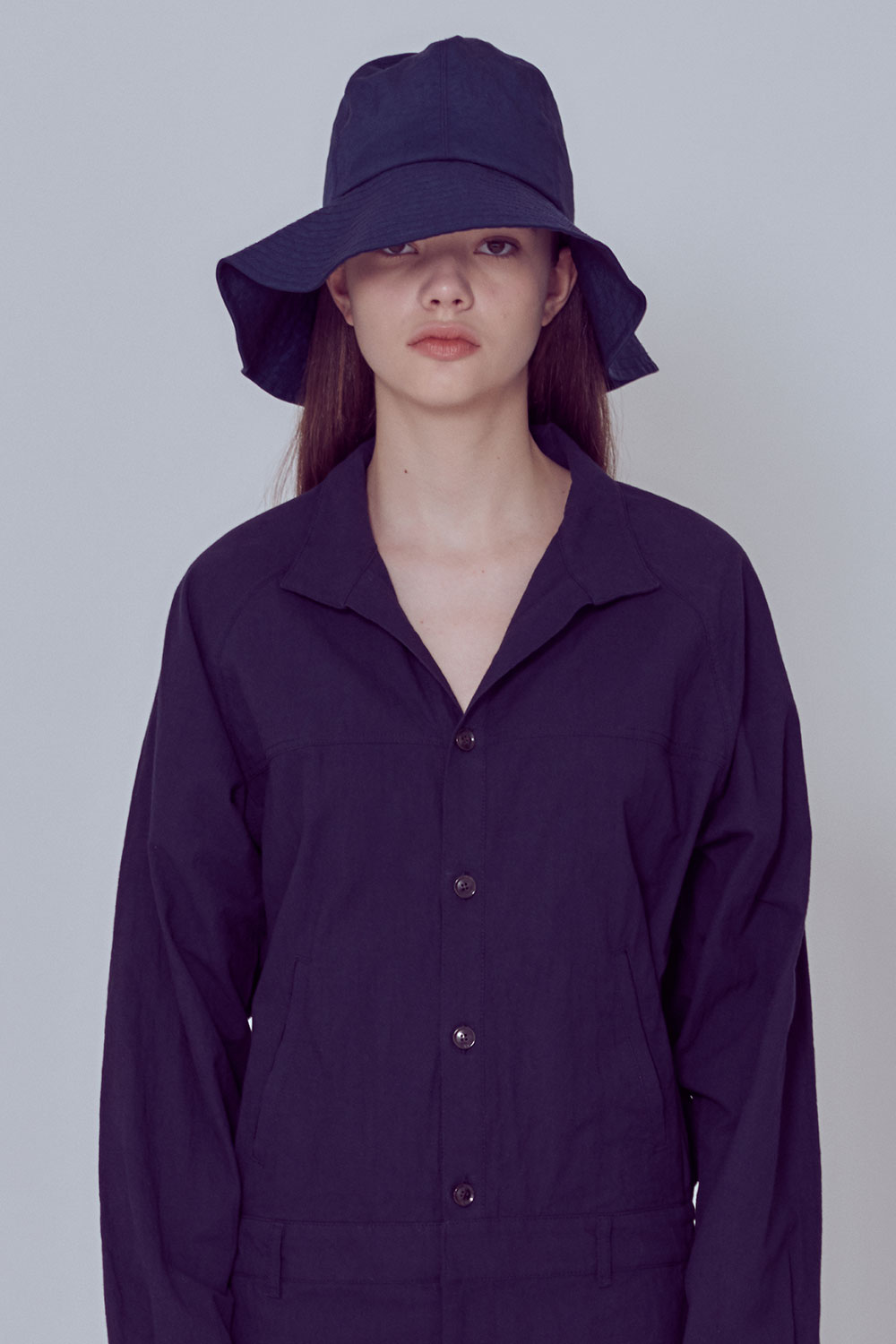 [벤시몽 X 비아플레인] Bucket Hat_navy BS0SCP508NV00F