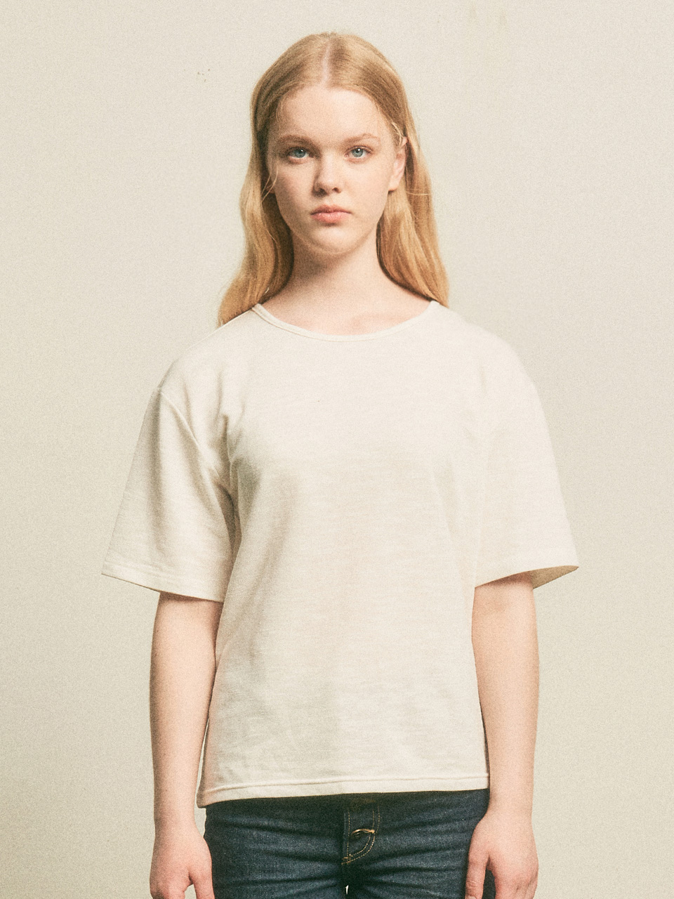 Woman Summer Basic T-shirts_White