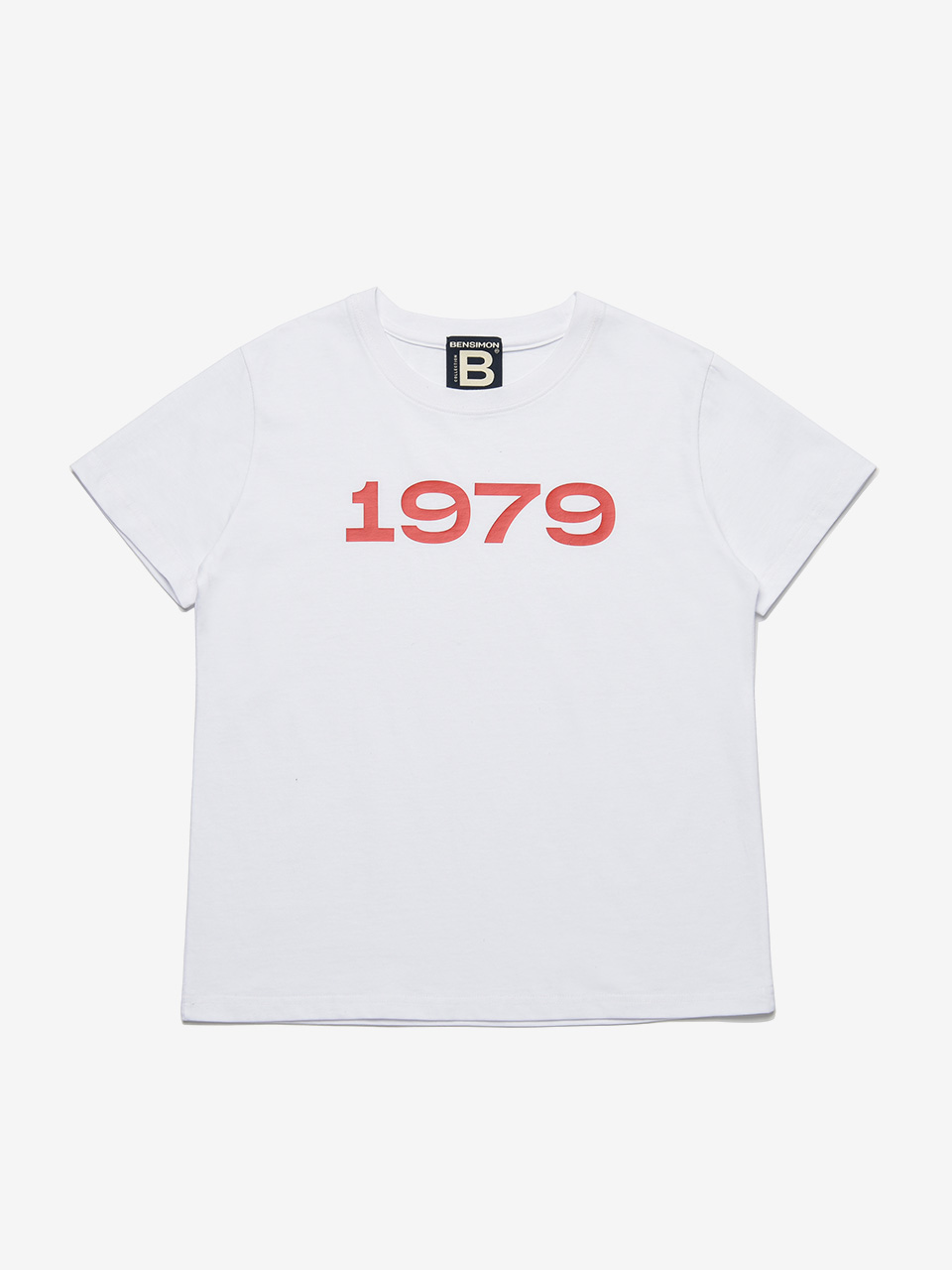 BENSIMON 1979 HALF SLEEVE - WHITE